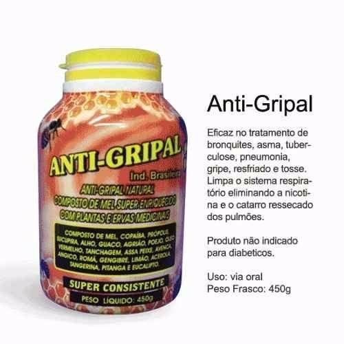 12 xarope anti-gripal plantas & mel 100%natural natural 450g