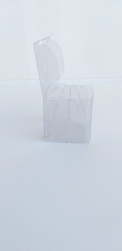120 caixas  acetato 7x7x4 para doces e artesanatos em geral