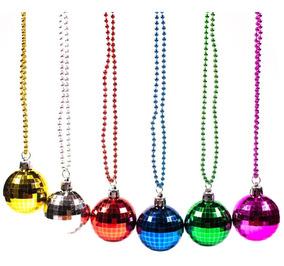 68620399d08a 12 Collar Bola Disco Mardi Grass Fiesta 70's Batucada