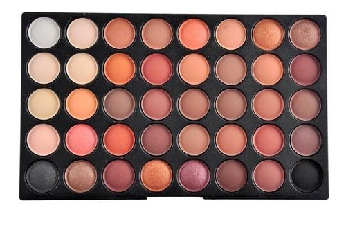 120 colores paleta sombras mate larga duración envio gratis