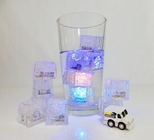 120 pzas. led rgb colores tipo hielo sumergible