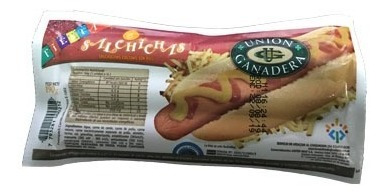 120 salchichas cortas unión ganadera de 3800 gramos