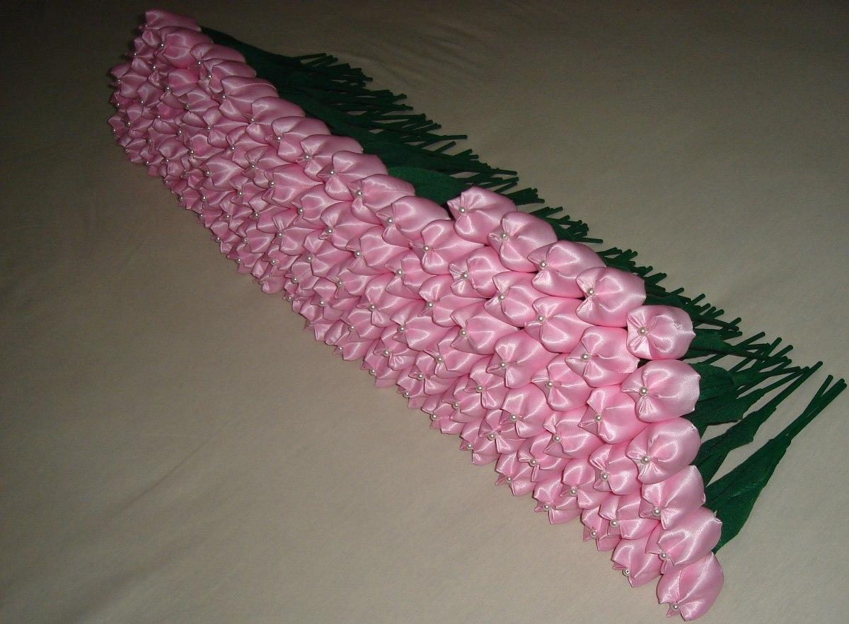 120 Tulipas Em Tecido Para Lembrancinhas R 21500 Em Mercado Livre
