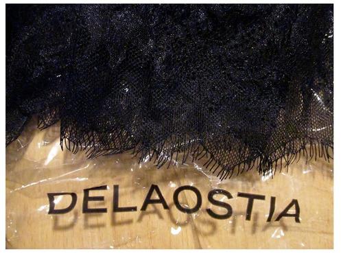 $1200 blusa negra delaostia nueva modelo lazo alexandría