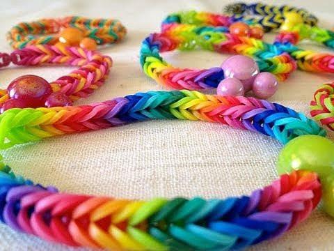 1200 ligas cambian color en luz uv rainbow loom xd24 vv4