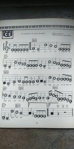 1200 partituras teclado fácil