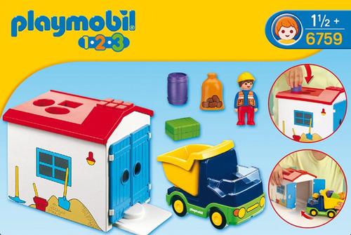 1,2,3 camion con garaje playmobil r3108