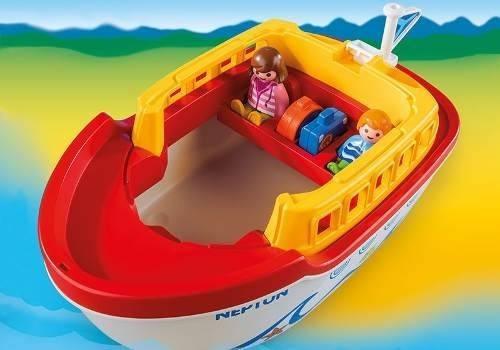 1,2,3 maletin barco playmobil r3113