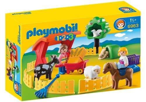 1,2,3 recinto de mascotas playmobil r3109