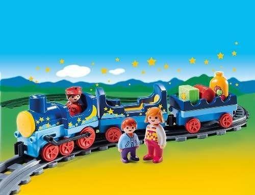 1,2,3 tren con vias playmobil r3115