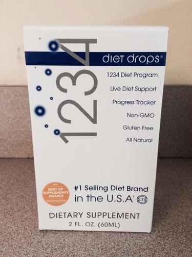 1234 diet drops para adelgazar