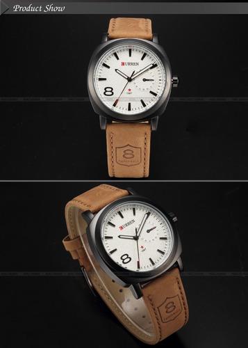 123hermoso reloj 100% original marca curren, con envio gra