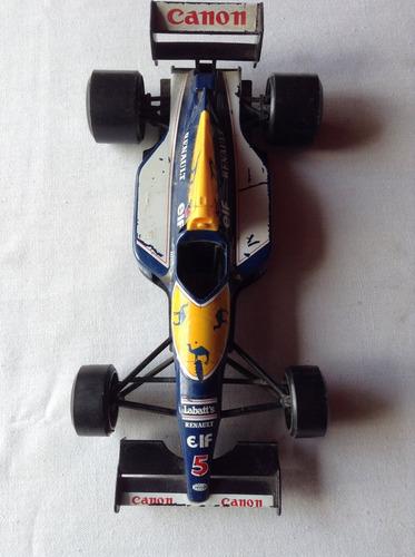 1/24 burago italiano formula 1 renault williams