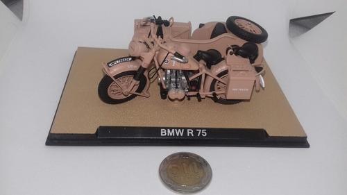 1/24 diecast, motocicleta bmw r75