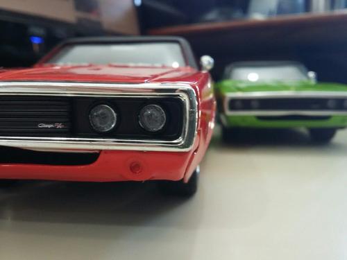 1/24 dodge charger r/t 1970 miniatura nova sem caixa