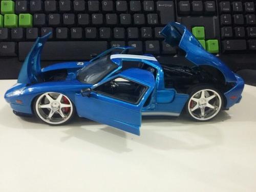 1/24 ford gt 2005 - velozes e furiosos