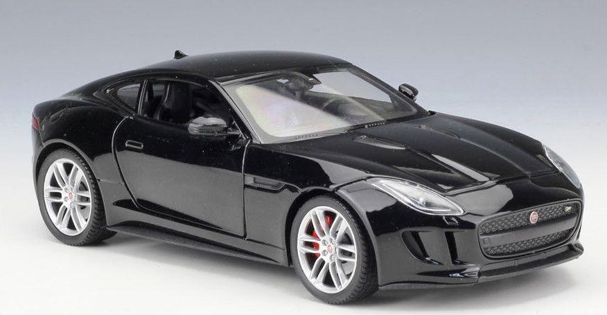 Attractive ... Jaguar F Type 2015 Welly 24060 Frete Gratis Coupe Black. Carregando  Zoom.