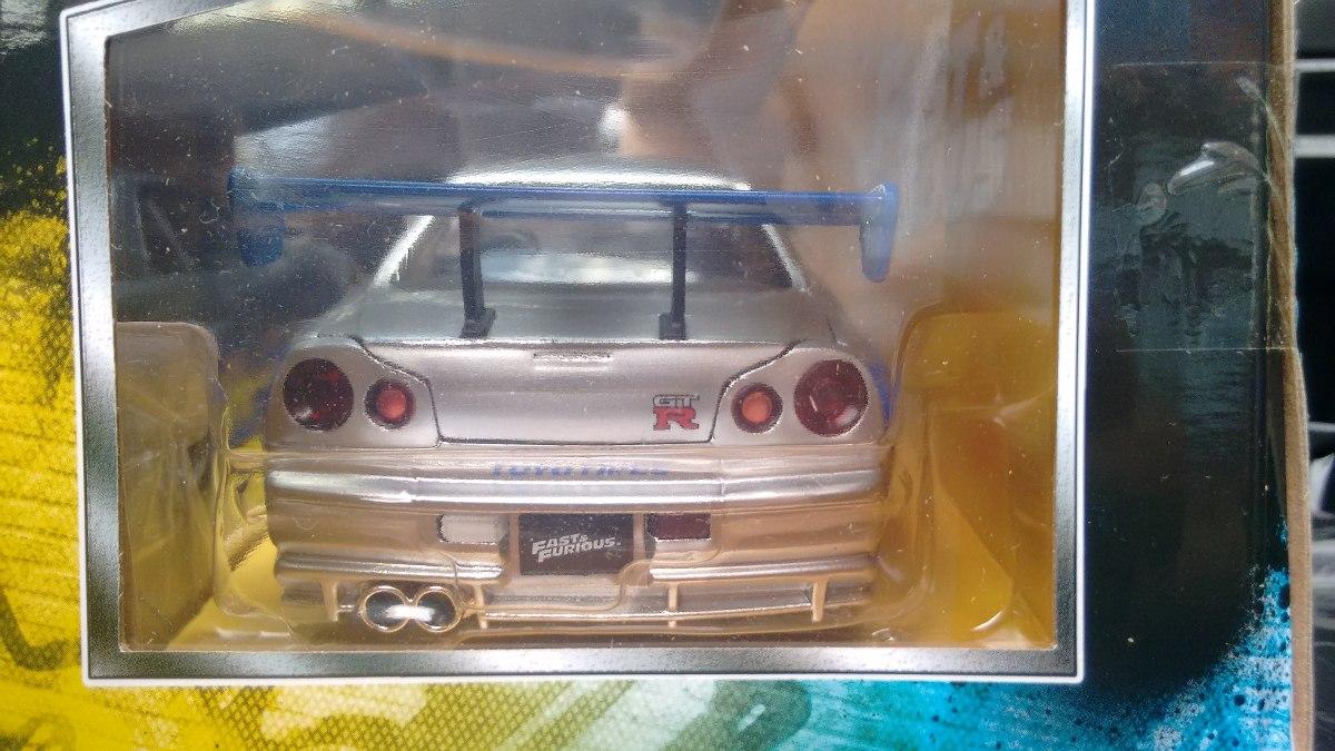 1999 Nissan Skyline Gtr R34 For Sale >> 1:24 Nissan Skyline Gtr (r34) De Brian O´conner - $ 499.00 ...