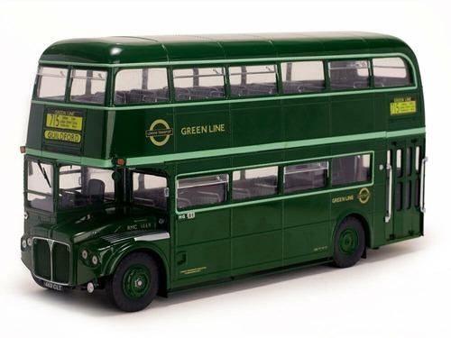 1/24 sunstar ônibus routemaster londres 1958 topminis 38 cm