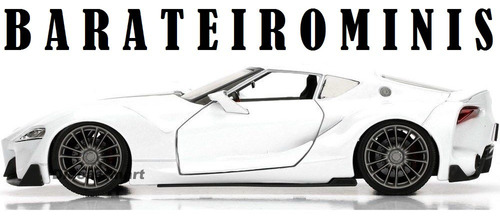 1:24 toyota ft1 concept white jdm tuners jada barateirominis
