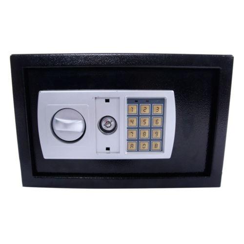 12.5 durable cerradura electrónica teclado caja efectivo