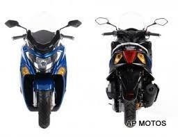 125 motos daelim steezer