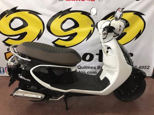 125 scooter motos daelim besbi