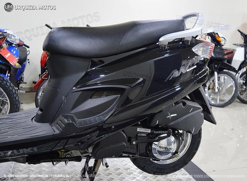 125 scooter motos moto suzuki