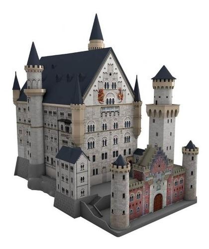 12573 castillo neuschwanstein rompecabezas 3d ravensburger