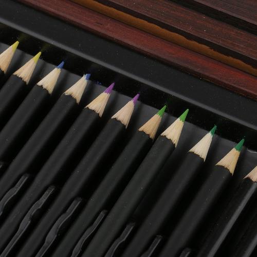 126pcs de madera conjunto de arte accesorios bueno perfecto