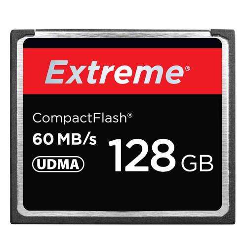 128 gb extreme compact flash 400x velocidad lectura hasta