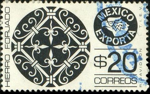 1287 exporta 4° e caja grande hierro forjado 20p usado 1983