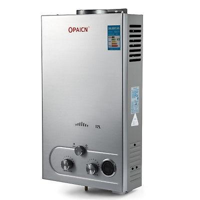 12l gnc caldera instantánea de gas agua caliente calentador