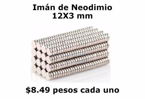 12mmx3mm neodimio imanes  $8.49 cada uno