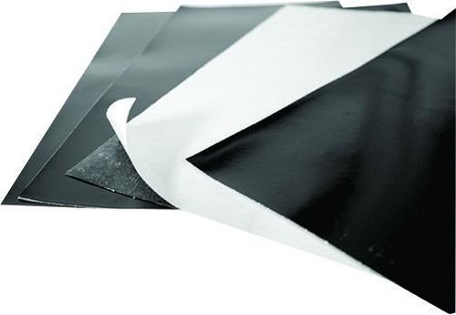 12mx60cm imã geladeira c/ adesivo manta magnética - 0,3mm
