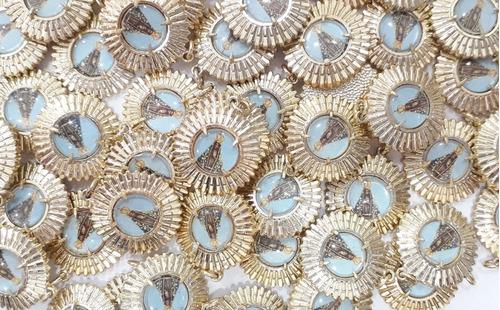 12pçs pingente medalhas de nossa senhora aparecida