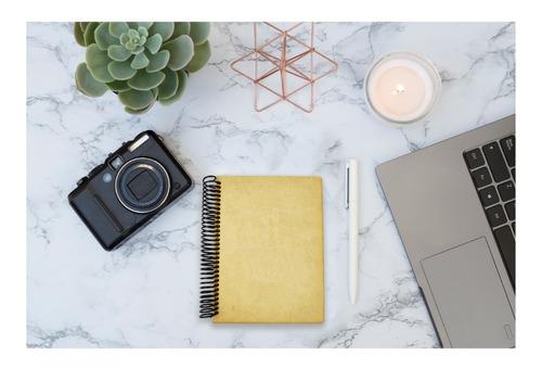 12pzs cuadernos de mdf liso decoupage mayoreo art14300