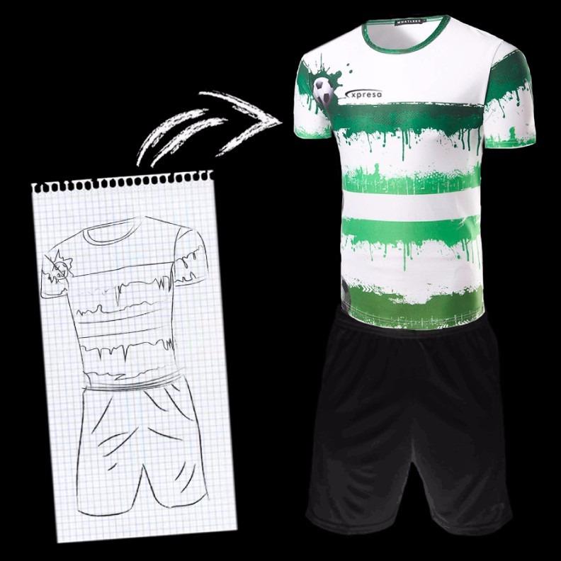 277f084fbc276 12uniforme Futbol Personalizado Cualquier Diseño Mismoprecio ...