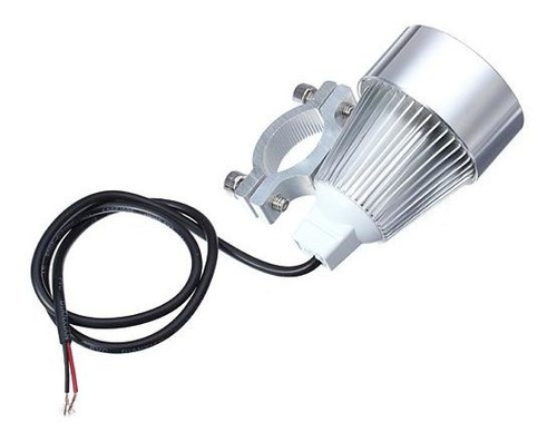 12v 15w moto coche led day spot lightt silver