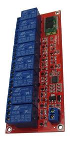 12v 8 Channel Bluetooth Relay Module Mobile Phone Remote Con