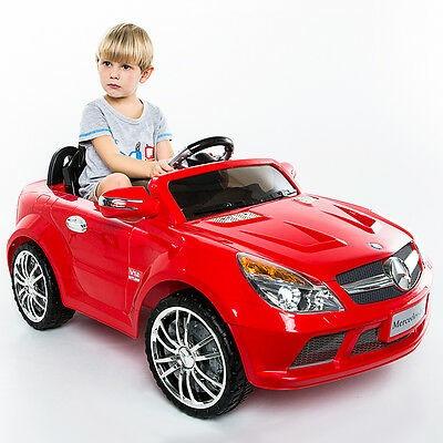 12v chico eléctrico mercedes-benz sl65 paseo en coche rc