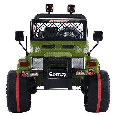 12v mp3 niños raptor jeep wrangler carro rc paseo en coche