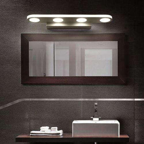 12w Moderno Cuarto De Baño Espejo Frontal Led Luz Aseo Pared ...