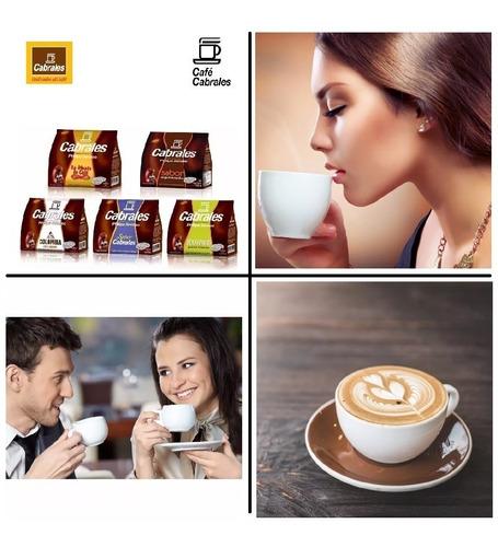 12x cafe cabrales super hd1280 philips senseo capsula