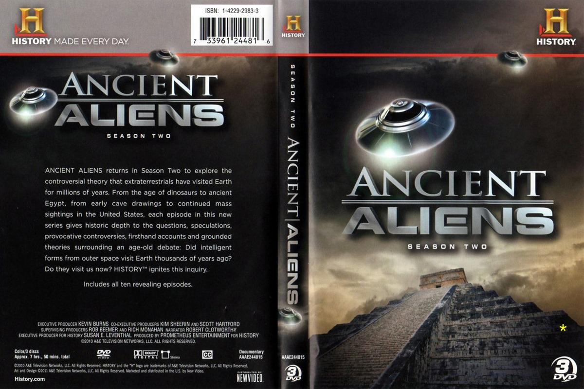 13 Box Alienígenas Do Passado 1º Ao 13º Ano 40 Dvd's