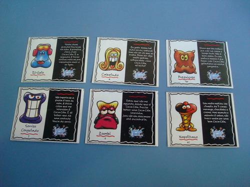 13 cards geloucos da coca-cola