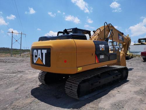 13) excavadora caterpillar con hid 320d2 2013