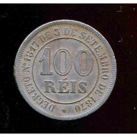 13 Moedas Brasil Império 100 Réis Níquel 1871/85 Mbc/sob L7