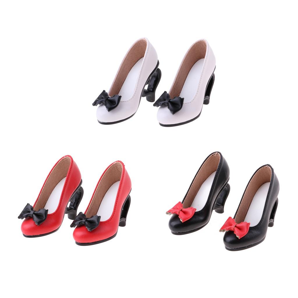 1 3 Muñeca Tacones Altos Zapatos Sandalias W. Bowknot Para ... 9cc01b27857d