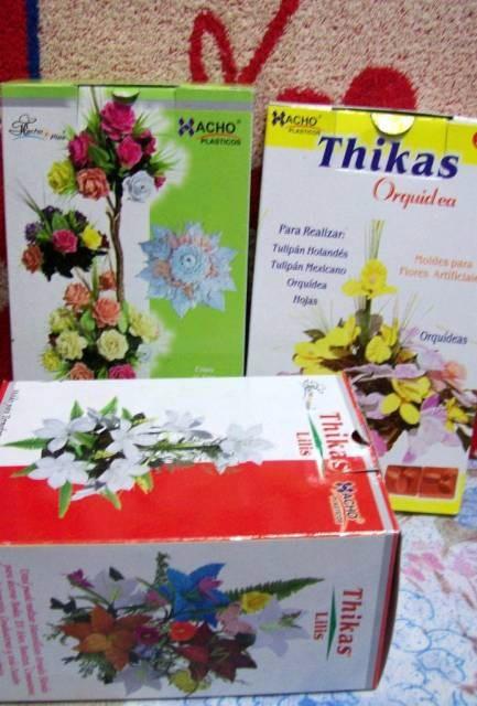 a996c06d642 13 Pares Moldes Para Flores Goma Eva - Orquidea Rosa Lirios -   795 ...